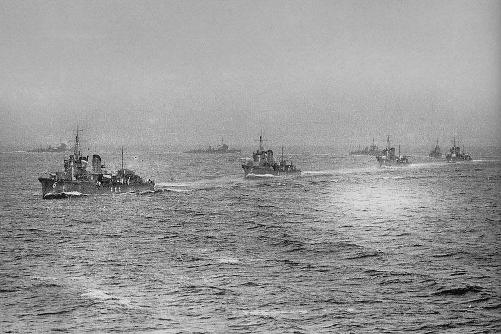 Japanse Torpedobootjagers van de Akatsuki-klasse