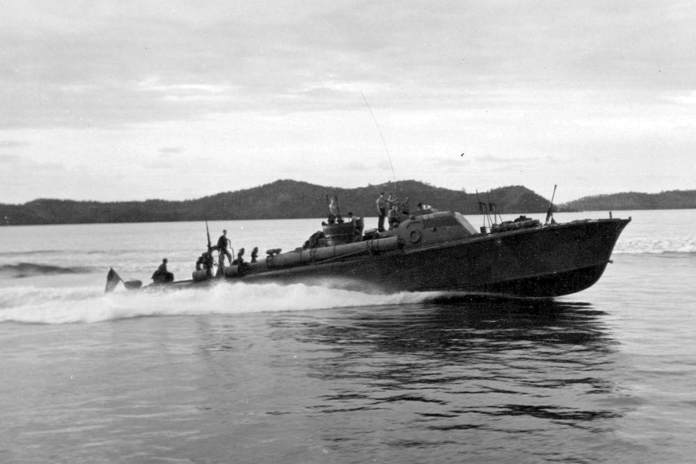 Amerikaanse Torpedoboot USS PT-56