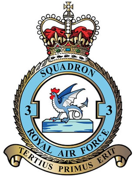 Britse No. 3 Squadron, Royal Air Force