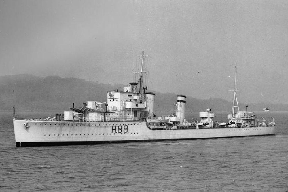 Britse Torpedobootjagers van de G-klasse