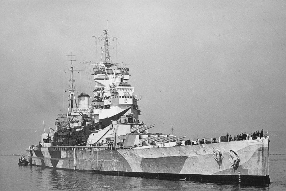 Britse Slagschepen van de King George V-klasse