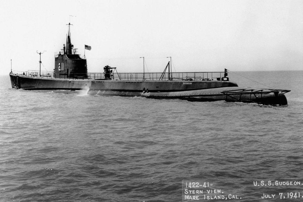 Amerikaanse Onderzeeboot USS Gudgeon (SS-211)