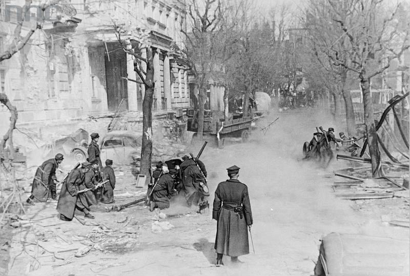 Evacuatie en ondergang van de Duitse stad Kolberg