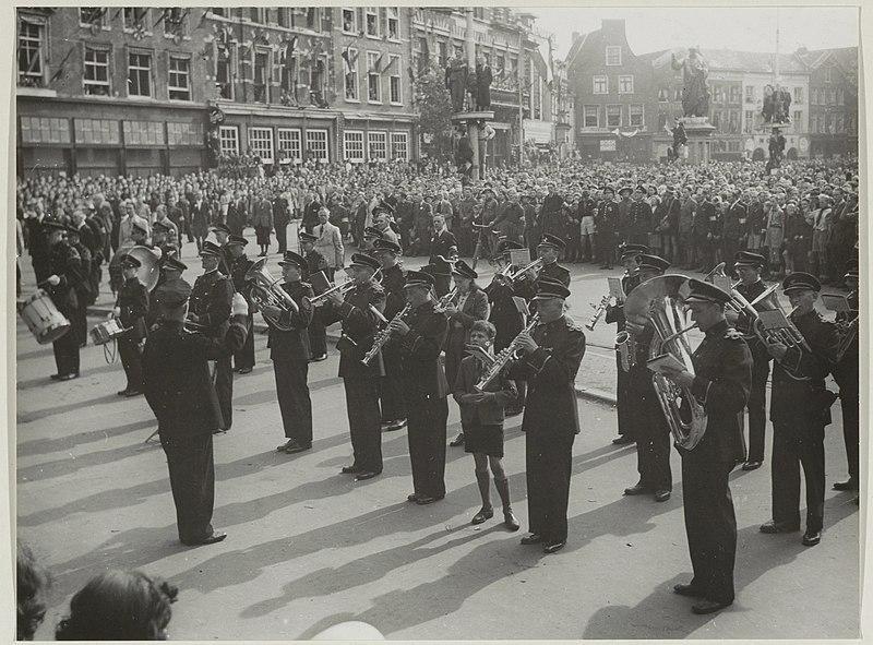 Bevrijdingsviering in het westen van Nederland