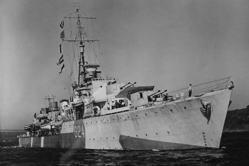 Britse Torpedobootjagers van de Tribal-klasse