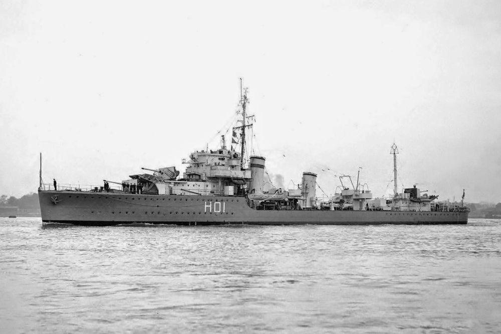 Britse Torpedobootjagers van de H-klasse
