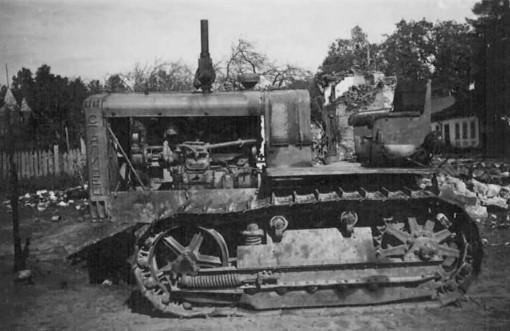 ChTZ S-65 Sovjettractor