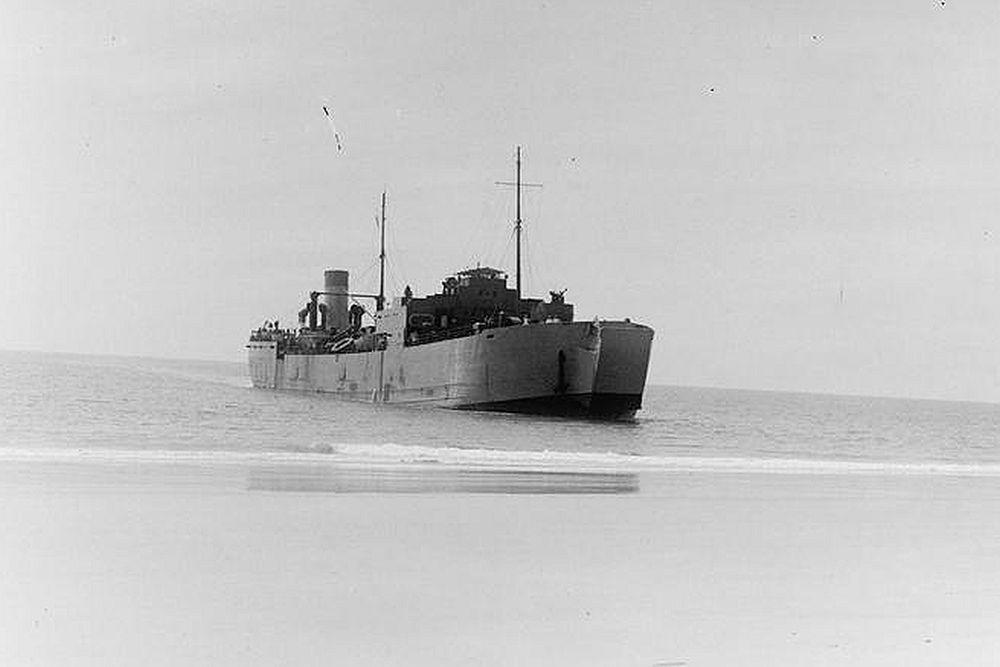 Britse Landing Ship Tank van het LST(1)-Type