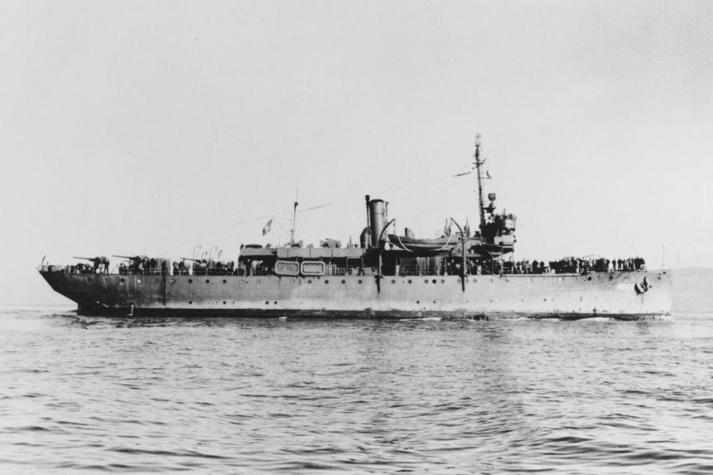 Amerikaanse Kanonneerboot USS Tacloban (PG-22)