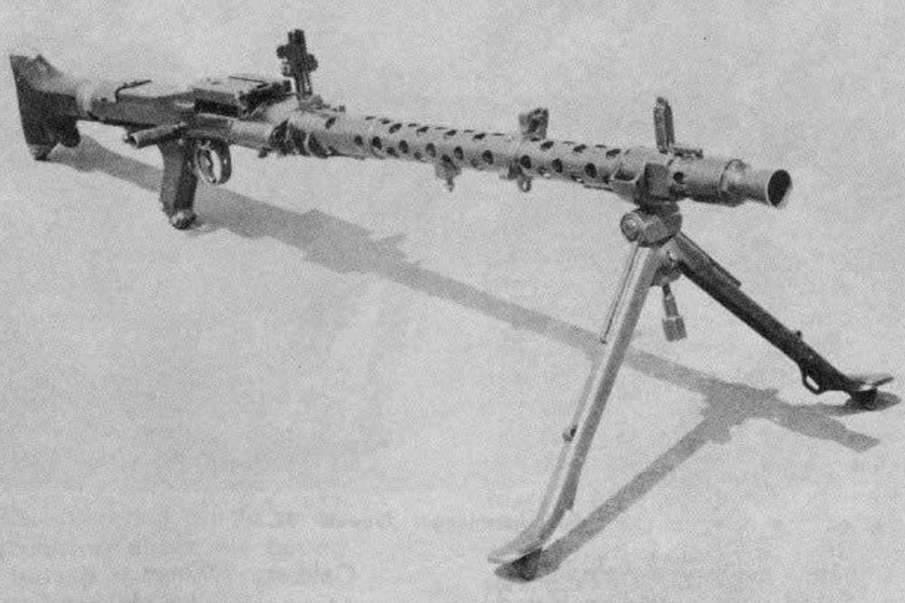Duitse Lichte-machinegeweer Rheinmetall MG 34