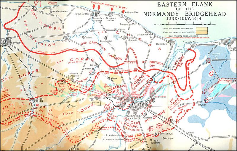Verdediging van Carpiquet, 7 juni 1944