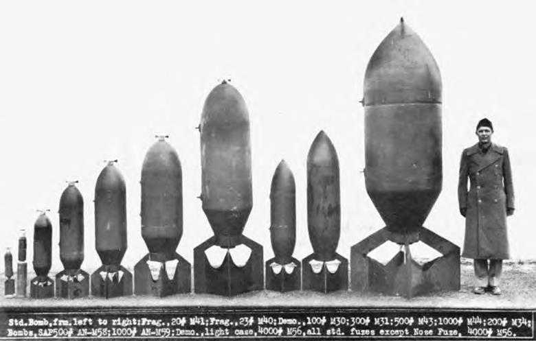 Amerikaanse bommen (1942-1945)