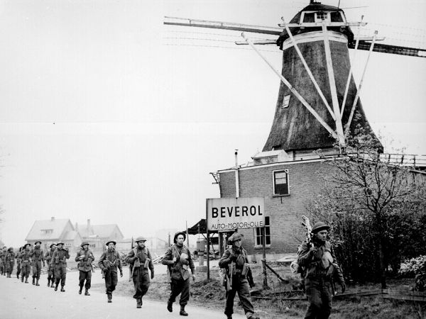 Liberation of the northeastern part of the Netherlands