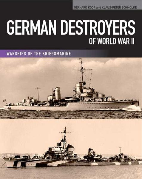German Destroyers of World War II