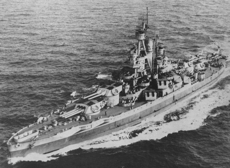 Amerikaanse slagschepen van de Nevada-klasse