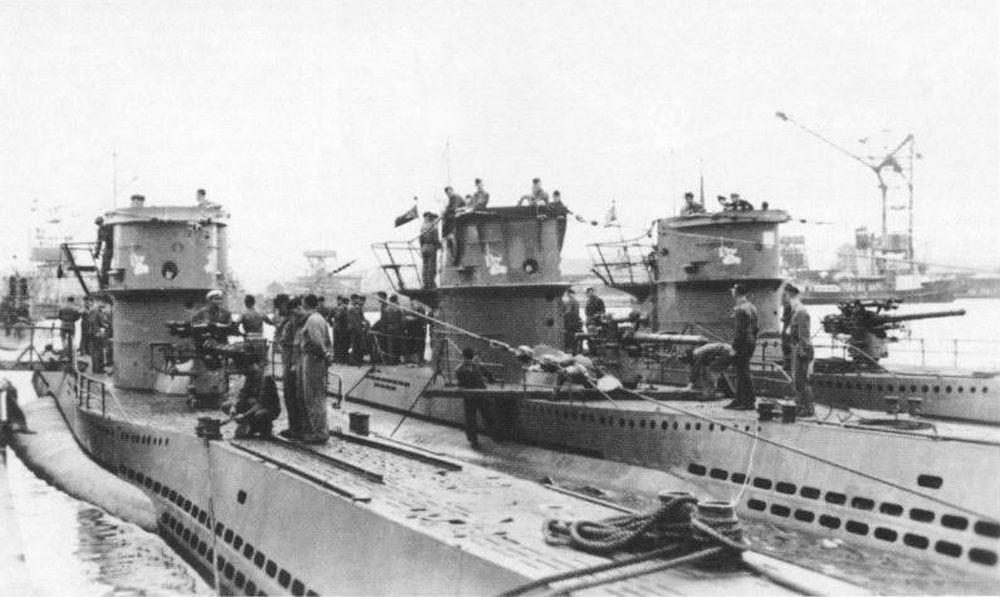 Duitse Onderzeeboten van het Type VIIc