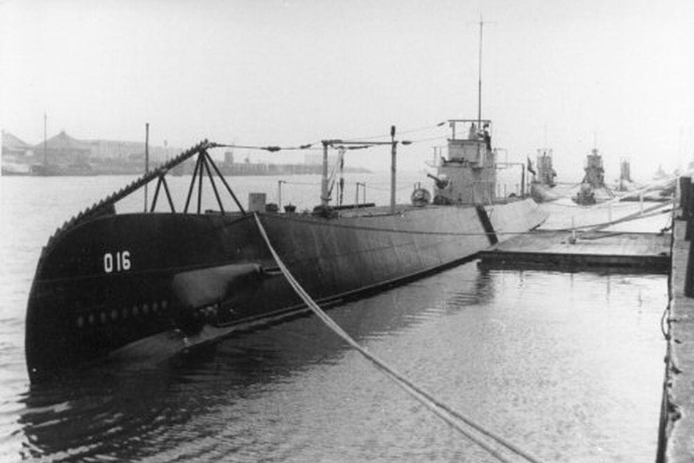 Nederlandse Onderzeeboot Hr. Ms. O 16