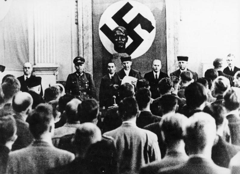 Executie van de samenzweerders van 20 juli 1944 in Plötzensee