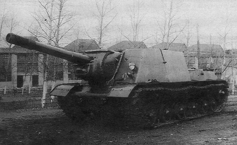 ISU-152 & ISU-122