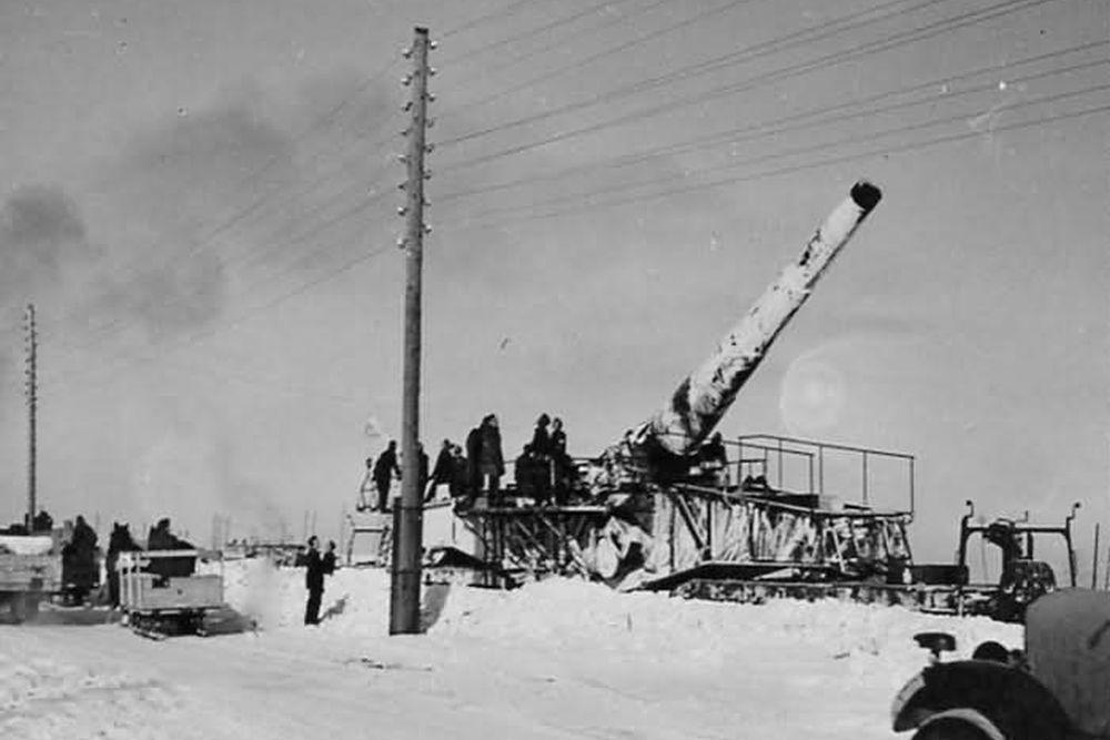 Duitse Spoorweggeschut 28 cm Kanone (Eisenbahn)