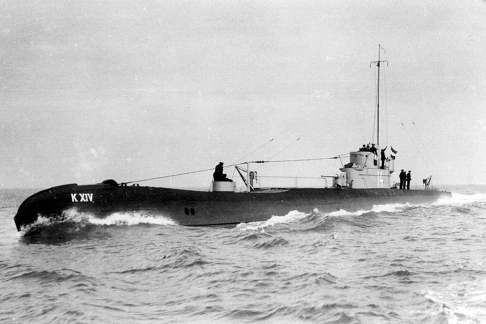 Nederlandse Onderzeeboten van de  K XIV-klasse