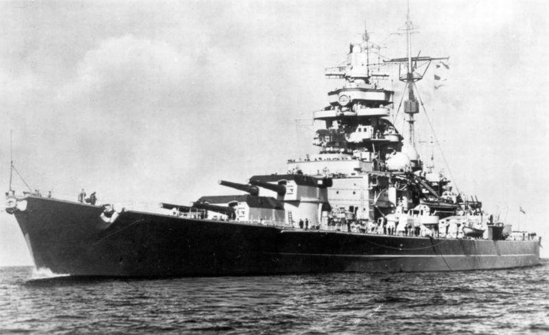 Ondergang van de Tirpitz