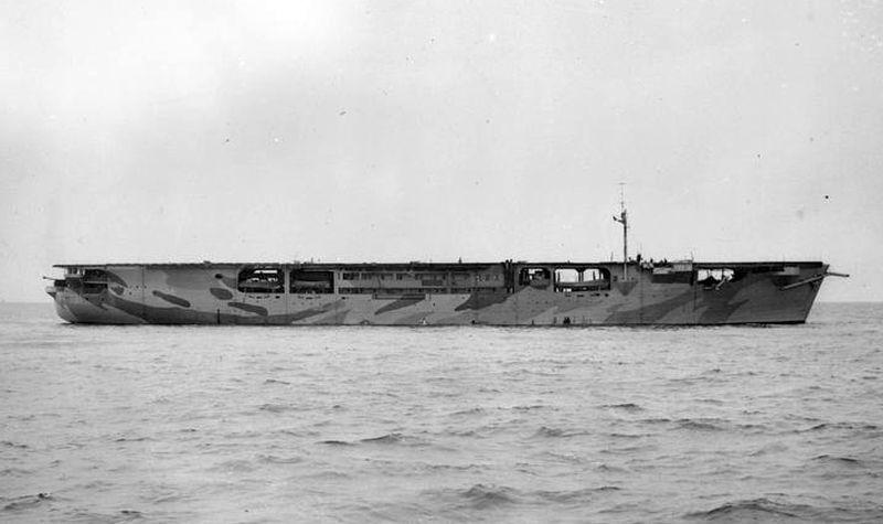 Brits escortevliegdekschip HMS Audacity