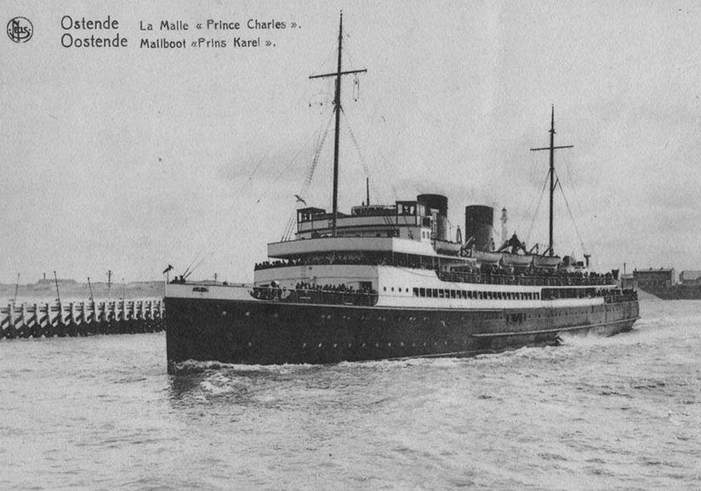 Britse Landing Ship Infantry HMS Prince Charles
