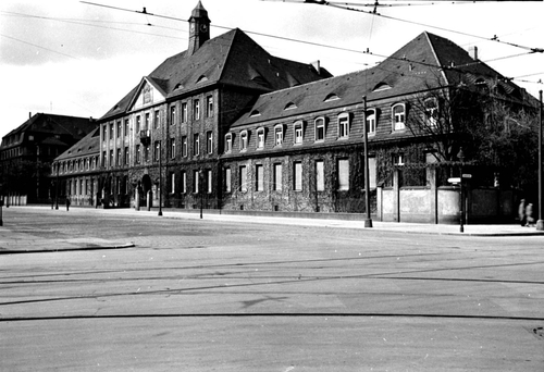 Jewish hospital in Berlin during the Nazi period