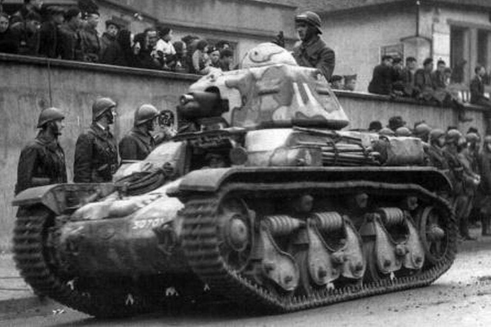 Franse Lichte-tank Renault R 35