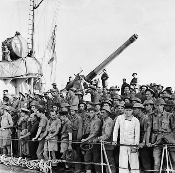 Evacuation of the British Expeditionary Forces from Greece