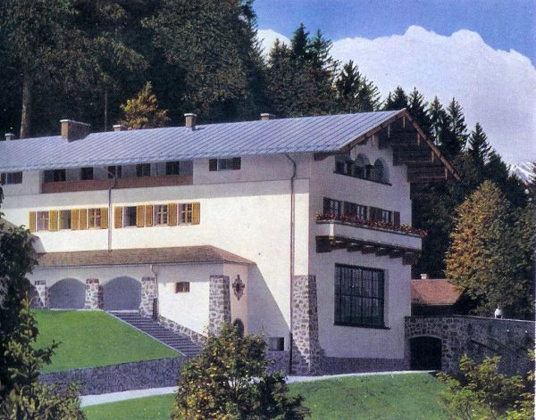 Obersalzberg: rustoord of Alpenvesting