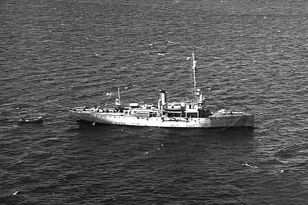 Amerikaanse Kanonneerboot USS Tulsa (PG-22)
