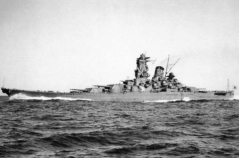 Japanse slagschepen van de Yamato-klasse