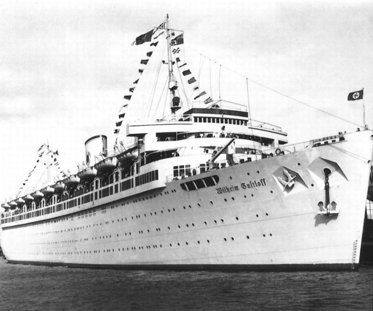 Nazi ship Wilhelm Gustloff