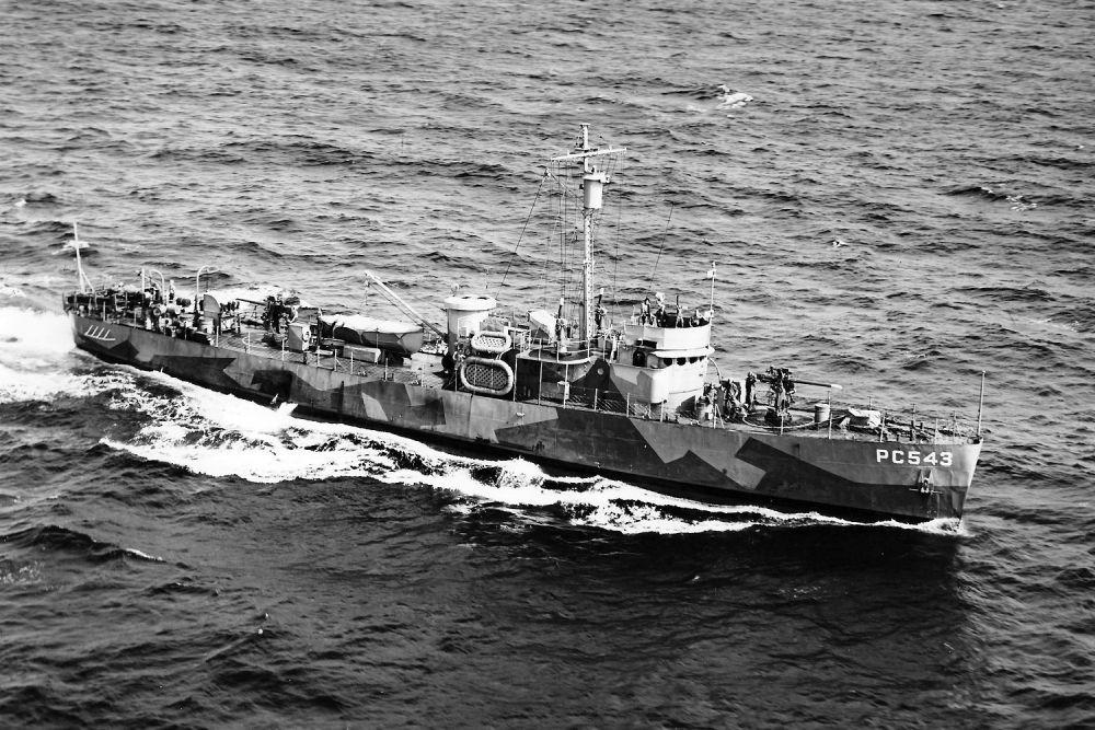 Amerikaanse Onderzeebootjagers van de PC-461-klasse