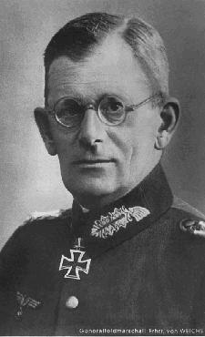 Weichs, Maximilian Reichsfreiherr von