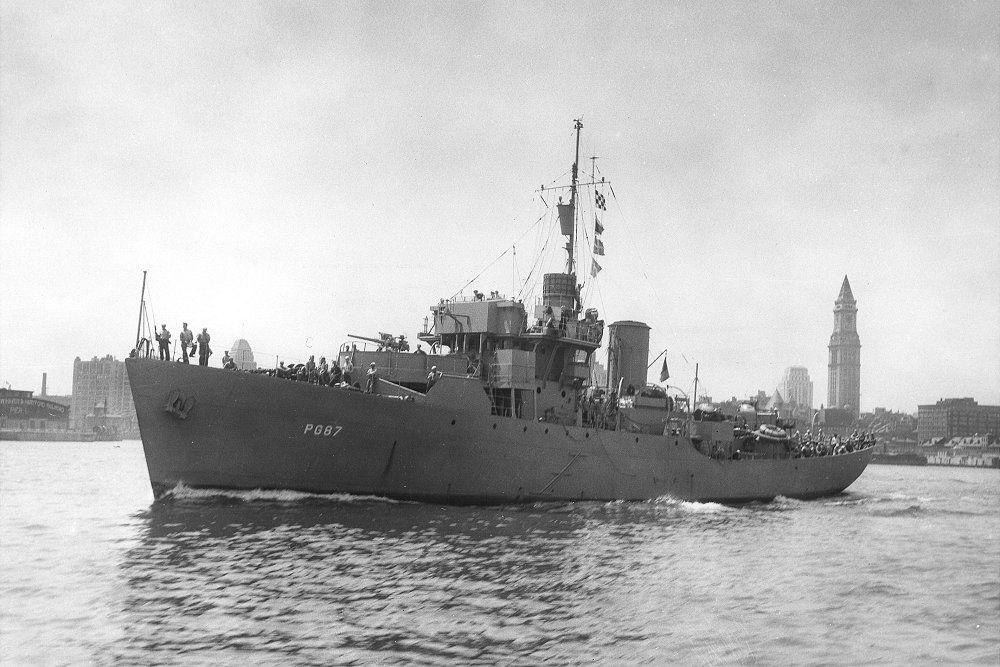 Amerikaanse Kanonneerboten van het Patrol Gunboat (PG) type