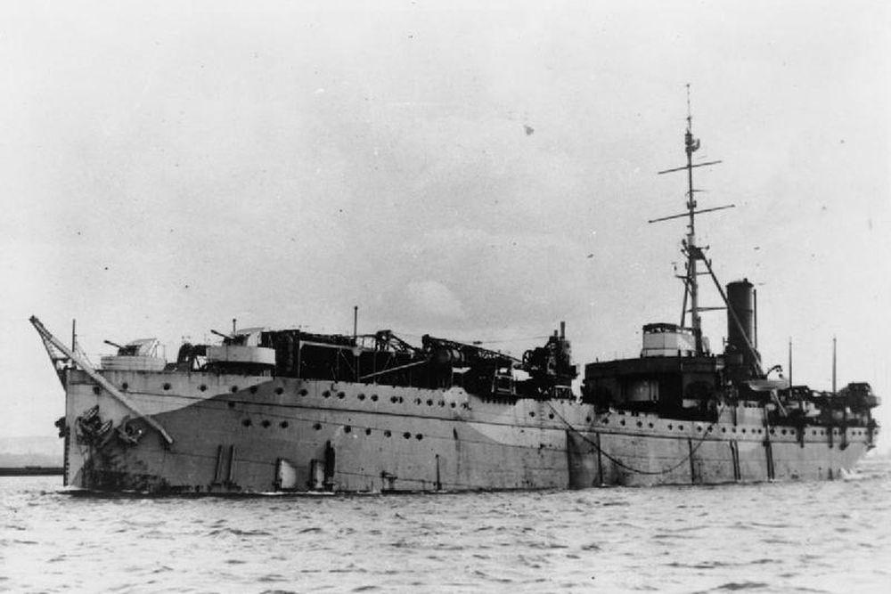 Britse Fighter Catapult Ship HMS Pegasus (1934)