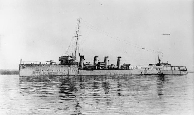 Britse 20th Destroyer Flotilla