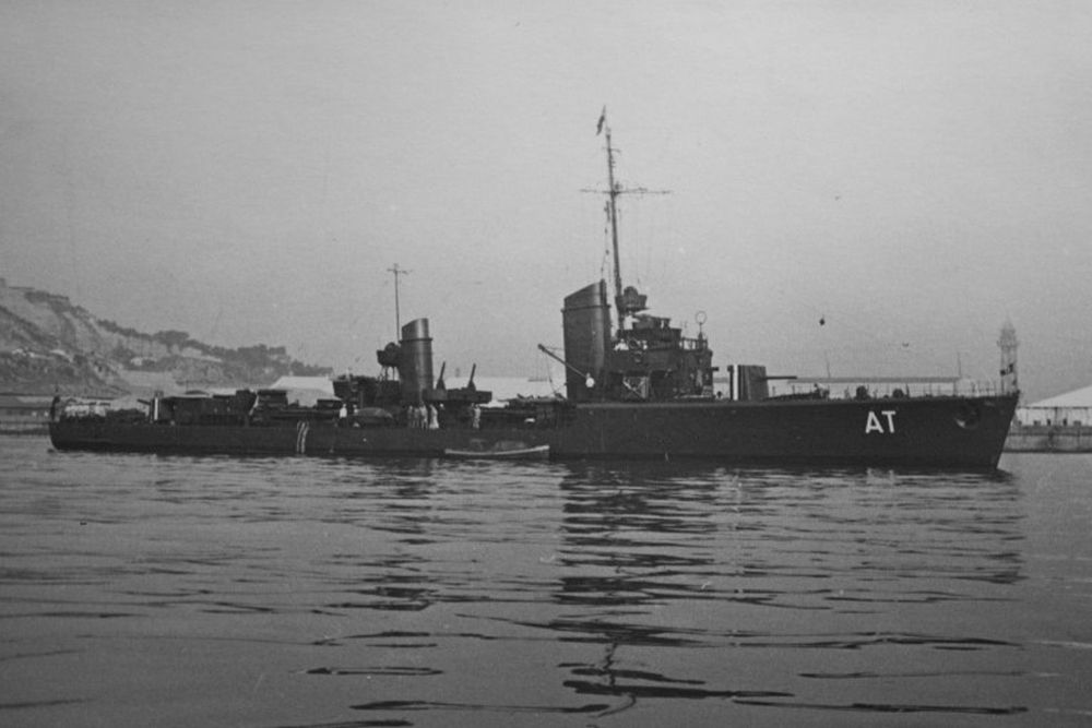 Duitse Torpedoboot Albatros (AT)