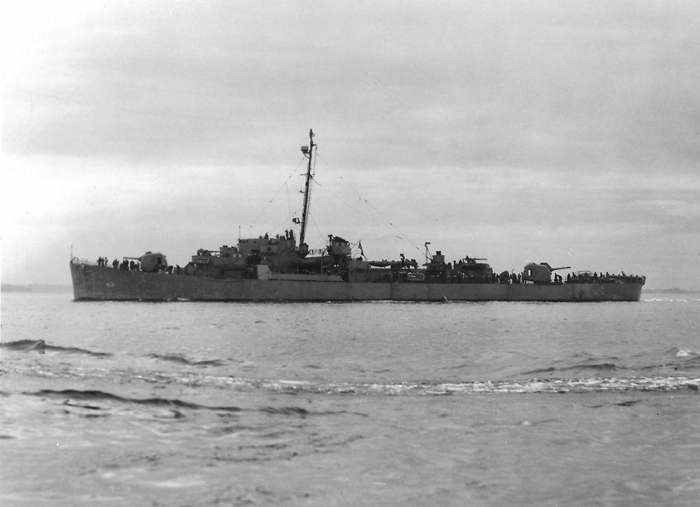 Amerikaanse Escortejager USS Samuel B. Roberts (DE-413)