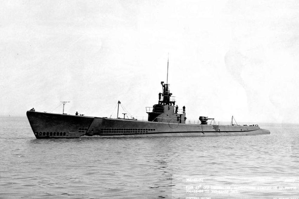 Amerikaanse Onderzeeboot USS Tunny (SS-282)