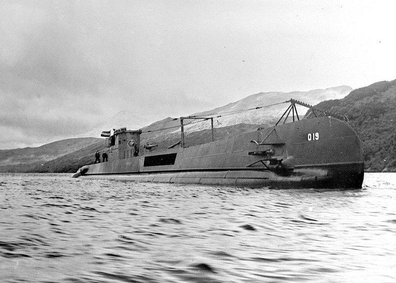Onderzeeboten van de O 19-klasse