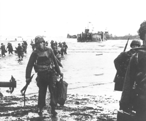 Landings on Utah Beach