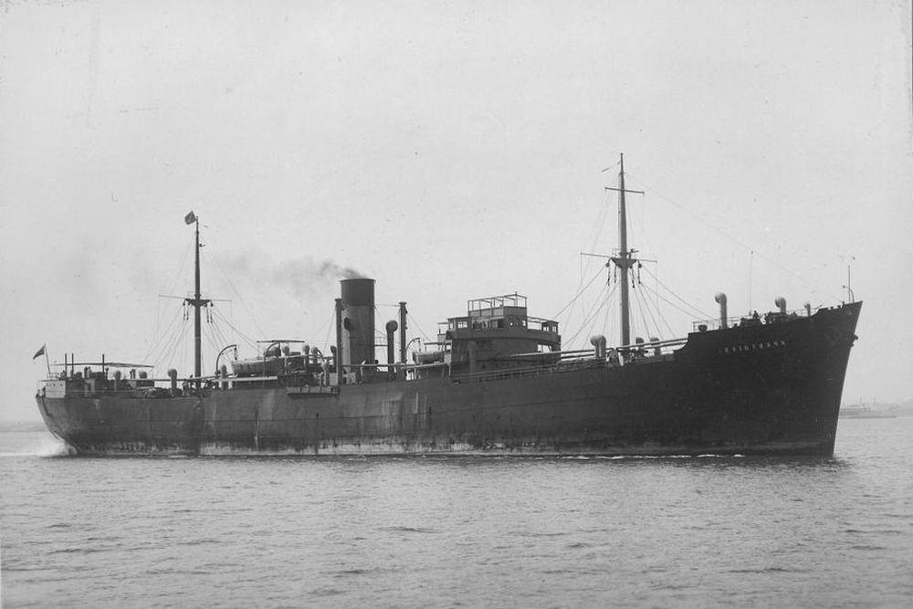 Britse Mijnenlegger HMS Teviotbank (M04)