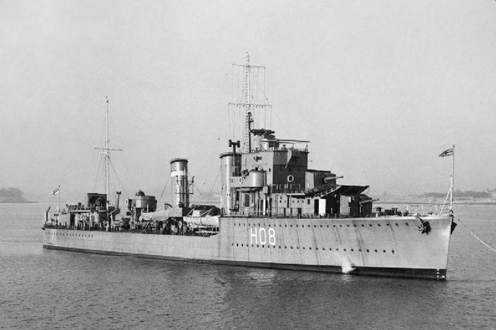 Britse Torpedobootjagers van de E-klasse