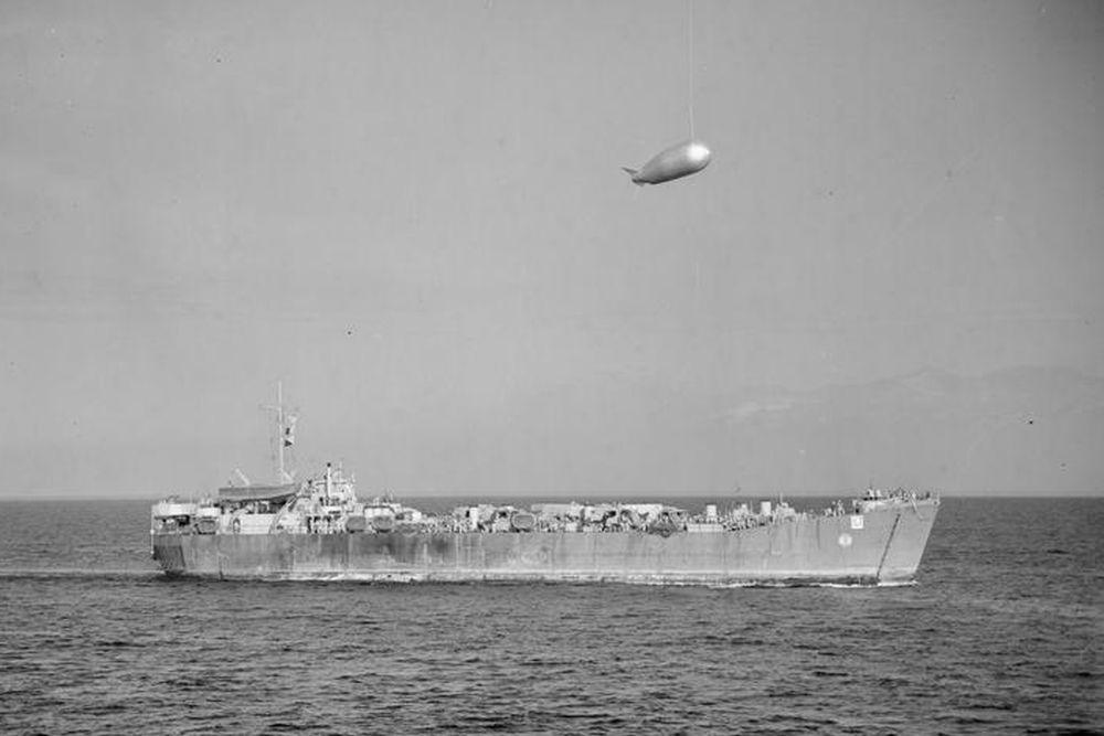 Amerikaanse Landing Ship Tank van de LST-1-klasse