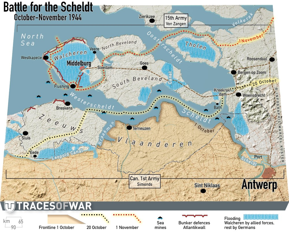 Battle for the river Scheldt