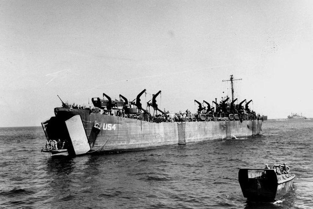Amerikaanse Landing Ship Tank van het LST(2)-Type